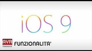 Apple iOS 9 info nuove funzionalità