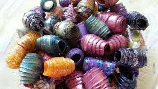 getlinkyoutube.com-DIY - Plastic Bottle Beads!