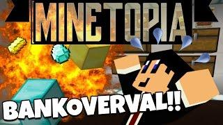 getlinkyoutube.com-MINETOPIA #35 - is de BANK BEROOFD?! - Minecraft Reallife Server