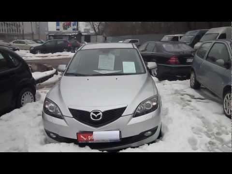 Mazda 3 1.6 Diesel, 110 KM, 2006. Prezentacja.