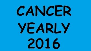 getlinkyoutube.com-Cancer - Yearly Tarot Reading for 2016