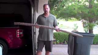 getlinkyoutube.com-How to Make an Authentic English Longbow: Part 1, From Stick to Stave