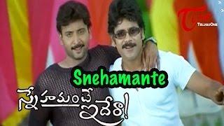 Snehamante Idera Songs - Snehamante - Nagarjuna - Sumanth - Sudhakar