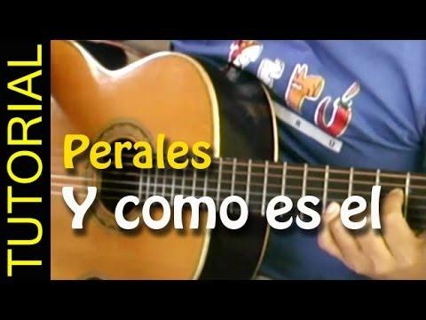 Y como es el - Jose Luis Perales - Como tocar en guitarra acordes