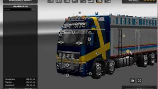 [ETS2]Euro Truck Simulator 2 Torton_Volvo FH 12/16 I + Trailer