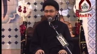 Moulana Shahenshah Hussain naqvi 5th  Majlis  1436 Hijri