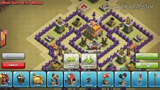 getlinkyoutube.com-Th7 Anti-Dragon 3x Lightning War Base (Updated In Description)