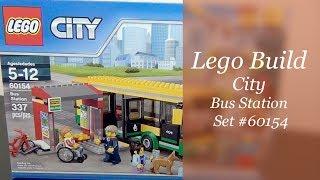 LEGO Build - Lego City Bus Station Set #60154
