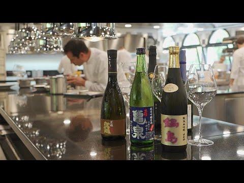 France 24:European chefs discover the delight of Japanese sake