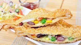 getlinkyoutube.com-แซนวิชสลัดกรอบ (แซนวิชทอด) Crispy Sandwich Salad