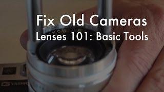 getlinkyoutube.com-Fix Old Cameras: Basic Lens Repair Tools