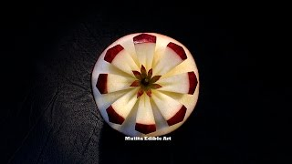 getlinkyoutube.com-Apple New Style For Beginners | Beginners Lesson 122 | By Mutita Art Of Fruit Carving Videos