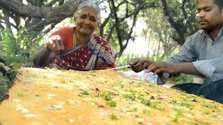 How To make world's Biggest Egg Omelet My Grandma    Myna Street Food    Food Info
