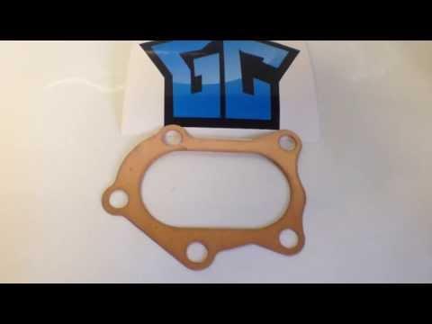 Медная прокладка для даунпайпа Subaru Impreza WRX/STI (www.tuningshop24)