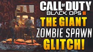 getlinkyoutube.com-Black Ops 3 Zombie Glitches - THE GIANT All Zombies Spawn At One Window Glitch! (BO3 Glitches)