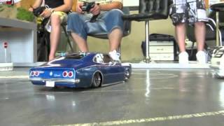 getlinkyoutube.com-RC Drift Opala SS Caravan SS In Japan Part 2
