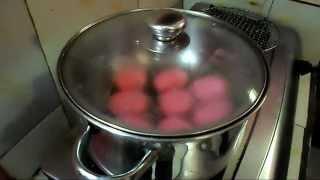 Resep dan Cara Membuat Kue Ku Isi Unti