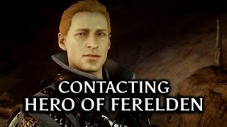 getlinkyoutube.com-Dragon Age: Inquisition - Contacting the Hero of Ferelden (Warden Alistair Romance)