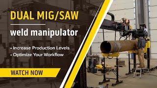 getlinkyoutube.com-Automated MIG & Submerged Arc (SAW) Welding Manipulator Demonstration & Review