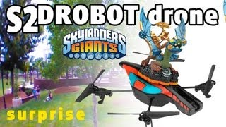 getlinkyoutube.com-S2 Drobot Drone Surprise + Contest (Skylanders Giants Epicness)