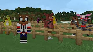 getlinkyoutube.com-FIVE NIGHTS AT FREDDY'S MOD (ANIMATRÓNICOS) - Minecraft Mods (1.7.10)