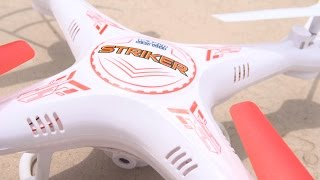 getlinkyoutube.com-World Tech Toys Introduces the Striker 2.4GHz 4.5CH RC Spy Drone