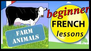 getlinkyoutube.com-Farm animals in French | Beginner French Lessons for Children