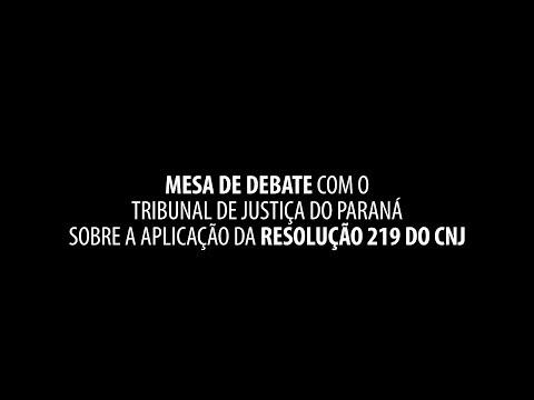 Sindijus-PR participa de mesa de debates com TJPR
