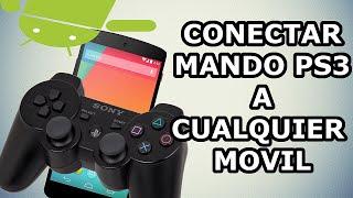 Conectar mando de PS3 a cualquier movil