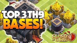 "getlinkyoutube.com-Clash Of Clans - TOP 3 TH9 FARMING BASE 2016! ""NEW UPDATE!"" - CoC BEST TOWN HALL 9 DEFENSE 2016!"