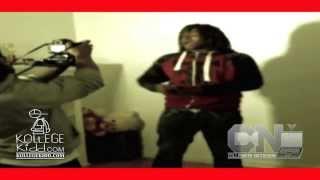 getlinkyoutube.com-Lil Jay Goes Crazy At Video Shoot [Behind-The-Scenes] | @kollegekidd