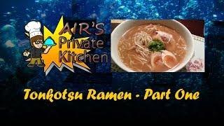 getlinkyoutube.com-Air's Kitchen: How To Make Tonkotsu Ramen Part 1
