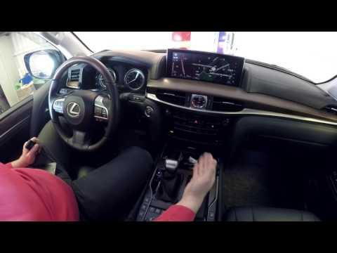 Lexus LX 450D Навигационная андроид-система AirTouch Performance на штатный монитор.