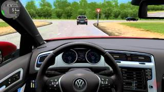 getlinkyoutube.com-City Car Driving - Volkswagen Golf GTI Revo-Stage 3 K04 Turbo + (Download link)