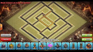 getlinkyoutube.com-Clash of Clans: New Update 275 walls/murs! Best Trophy & War Base HDV10/TH10