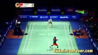 getlinkyoutube.com-Badminton Highlights - Thaihot China Open 2015 -  MS Finals Chen long vs Lee Chong Wei
