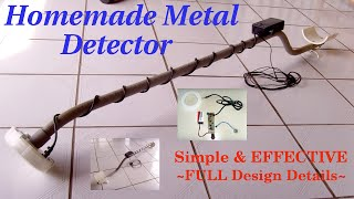 getlinkyoutube.com-HOMEMADE METAL DETECTOR ~ Simple & Sensitive(Schematic)