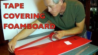 getlinkyoutube.com-TAPE COVERING FOAMBOARD - For RC Airplane Construction