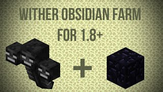 getlinkyoutube.com-BROKEN IN 1.9 [TUTORIAL] THE BEST 1.8+ Obsidian Farm! [Wither Powered, Seamless, Most Stable Design]