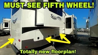 Totally amazing Fifth Wheel Floorplan you haven't seen by Grand Design