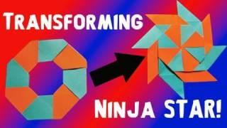 getlinkyoutube.com-How to Make a Transforming Ninja Star! (8-Pointed)