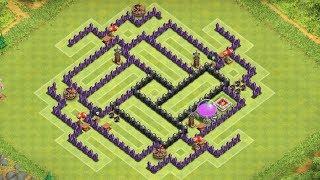 getlinkyoutube.com-Clash of Clans - Awesome TH8 Farming Base - Speedbuild