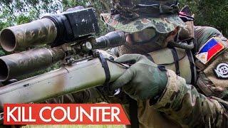 getlinkyoutube.com-23 Kills / 1 Death - Airsoft Sniper Kill Counter - JG Bar 10 - Novritsch in the Phillipines