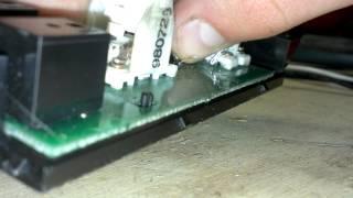getlinkyoutube.com-Power Window / Lock Switch LED Swap GMT 800