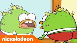 getlinkyoutube.com-Breadwinners | Il peggior taglio di capelli di sempre | Nickelodeon
