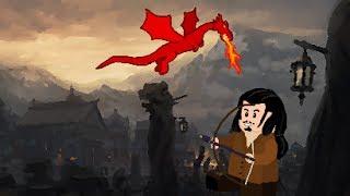 getlinkyoutube.com-Lego The Hobbit: The attack of Smaug Stop Motion