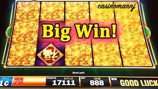 getlinkyoutube.com-Fu Dao Le Slot - VARIOUS FEATURES - *Big Win* - Slot Machine Bonus