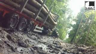 getlinkyoutube.com-SCANIA TIMBER TRUCKS TAMIYA LOG LORRY