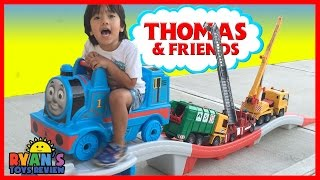 BACKWARD Step2 THOMAS THE TANK ENGINE UP & DOWN Roller Coaster Kids cars construction vehicles toys