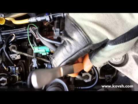 Как определить стучащую форсунку на Renault Kangoo 1.5 DCi